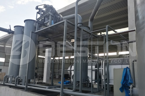 BST-50 Charcoal Making Equipment Was Assembled in Turkey