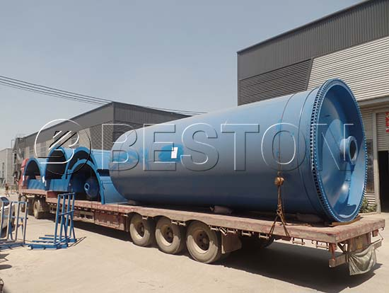 Tyre Pyrolysis Plant Shipping to Nigeria