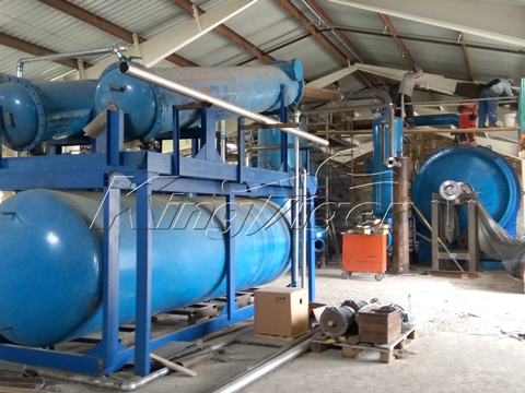 Waste Tyre Recycling Pyrolysis Plants
