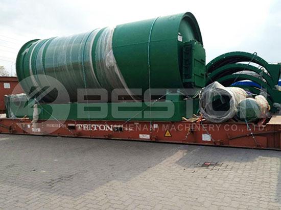 Tyre Pyrolysis Machine to Canada